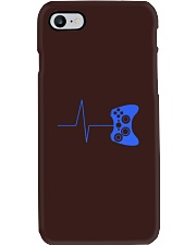 Heartbeat Of a Gamer Tshirt Funny Phone Case thumbnail