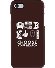 Choose Your Weapon Gamer Phone Case thumbnail