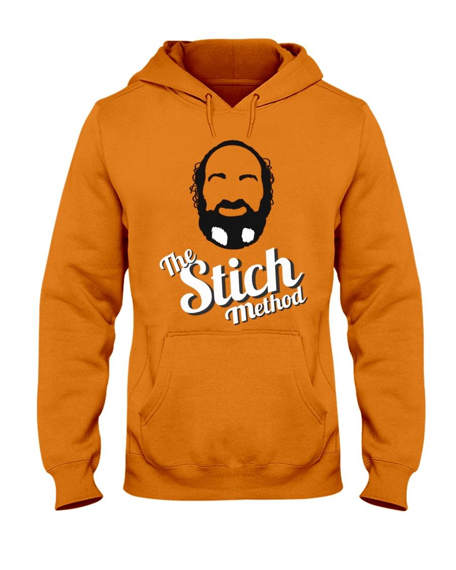 StichFace and Logo Merch Hooded Sweatshirt