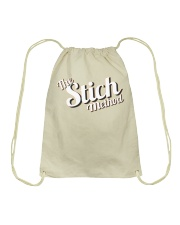 StichMethod Logo Only Merch Drawstring Bag thumbnail