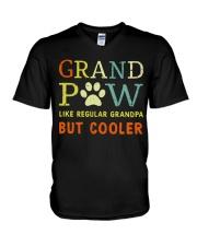 GRAND PAW - COOLER V-Neck T-Shirt tile