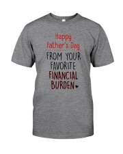 Happy FD - From your favorite financial burden Classic T-Shirt tile