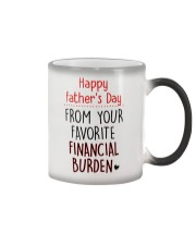 Happy FD - From your favorite financial burden Color Changing Mug tile