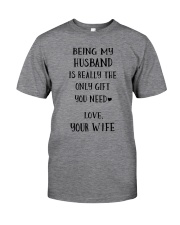 Being my husband Classic T-Shirt tile