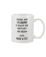 Being my husband Mug front