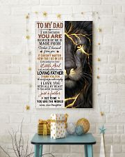 THUNDER LION - TO MY DAD 16x24 Poster lifestyle-holiday-poster-3