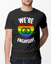 WE ARE ENGAYGED  Classic T-Shirt lifestyle-mens-crewneck-front-13