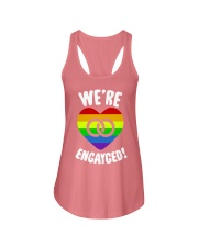 WE ARE ENGAYGED  Ladies Flowy Tank thumbnail