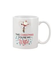This Christmas You Are My Husband Mug front