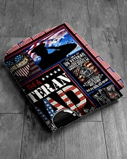 """TO MY DAD - VETERAN DAD Quilt 50""""x60"""" - Throw aos-quilt-50x60-lifestyle-closeup-front-06"""
