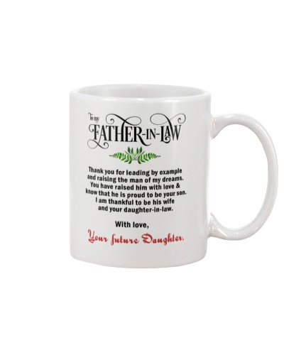 TO FUTURE FATHER-IN-LAW