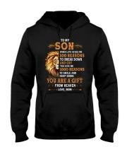 TO MY SON - 100 REASONS Hooded Sweatshirt tile