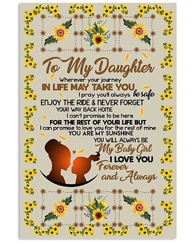 TO MY DAUGHTER YOU ARE MY SUNSHINE