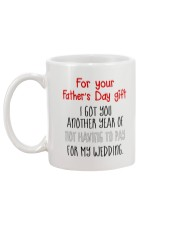 For Father's Day gift - not having to pay Mug back