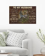 TO MY HUNTER HUSBAND POSTER 24x16 Poster poster-landscape-24x16-lifestyle-01