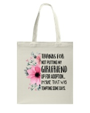 AWESOME GIFT FOR MOTHER OF GIRLFRIEND Tote Bag thumbnail