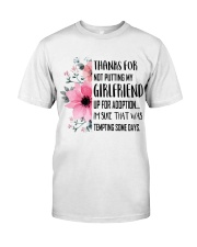AWESOME GIFT FOR MOTHER OF GIRLFRIEND Classic T-Shirt thumbnail