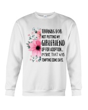 AWESOME GIFT FOR MOTHER OF GIRLFRIEND Crewneck Sweatshirt thumbnail