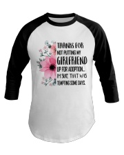 AWESOME GIFT FOR MOTHER OF GIRLFRIEND Baseball Tee thumbnail