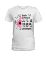 AWESOME GIFT FOR MOTHER OF GIRLFRIEND Ladies T-Shirt thumbnail