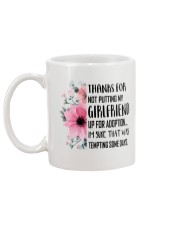 AWESOME GIFT FOR MOTHER OF GIRLFRIEND Mug back