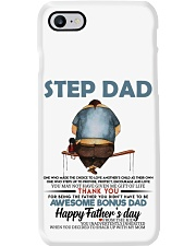 Happy Father's Day - Best gift for stepdad Phone Case tile