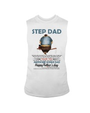 Happy Father's Day - Best gift for stepdad Sleeveless Tee tile