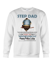 Happy Father's Day - Best gift for stepdad Crewneck Sweatshirt tile