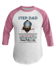Happy Father's Day - Best gift for stepdad Baseball Tee tile