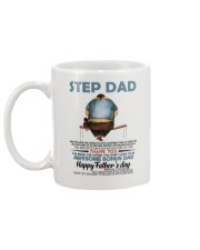 Happy Father's Day - Best gift for stepdad Mug back