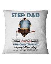 Happy Father's Day - Best gift for stepdad Square Pillowcase tile