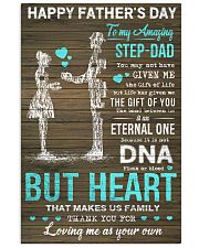 TO MY AMAZING STEP-DAD 16x24 Poster front