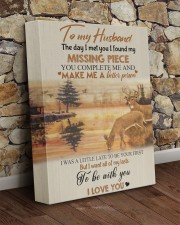 To my husband - missing piece 11x14 Gallery Wrapped Canvas Prints aos-canvas-pgw-11x14-lifestyle-front-21