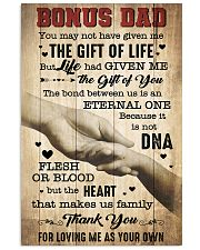 BONUS DAD - THE GIFT OF LIFE 16x24 Poster front