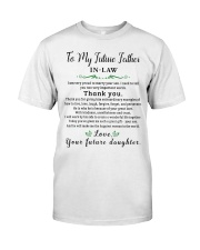 GIFT FOR FUTURE FATHER-IN-LAW - futuda Classic T-Shirt thumbnail