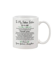 GIFT FOR FUTURE FATHER-IN-LAW - futuda Mug front