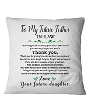 GIFT FOR FUTURE FATHER-IN-LAW - futuda Square Pillowcase thumbnail