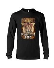 Father Protector Hero Lion Long Sleeve Tee thumbnail