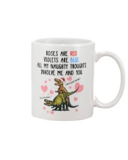 Naughty Thought Christmas Mug Mug front