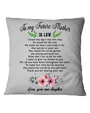 World's Best Mother-In-Law Mug  Square Pillowcase tile