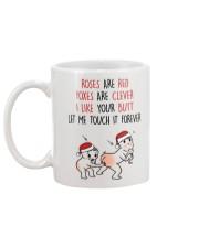 Touch It Forever Mug Gift For Girlfriend Mug back