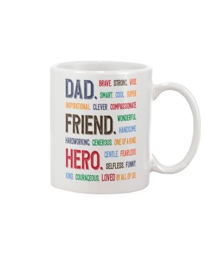 DAD FRIEND HERO