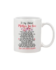 GIFT FOR FUTURE MOTHER-IN-LAW Mug front