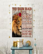RED LION - TO OUR DAD FROM DAUGHTERS 16x24 Poster lifestyle-holiday-poster-3