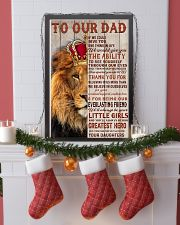 RED LION - TO OUR DAD FROM DAUGHTERS 16x24 Poster lifestyle-holiday-poster-4