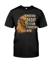Best Gift For Dad - VETERAN PROTECTOR Classic T-Shirt front