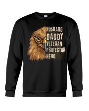 Best Gift For Dad - VETERAN PROTECTOR Crewneck Sweatshirt tile