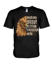 Best Gift For Dad - VETERAN PROTECTOR V-Neck T-Shirt tile