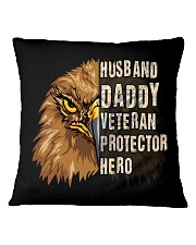 Best Gift For Dad - VETERAN PROTECTOR Square Pillowcase tile