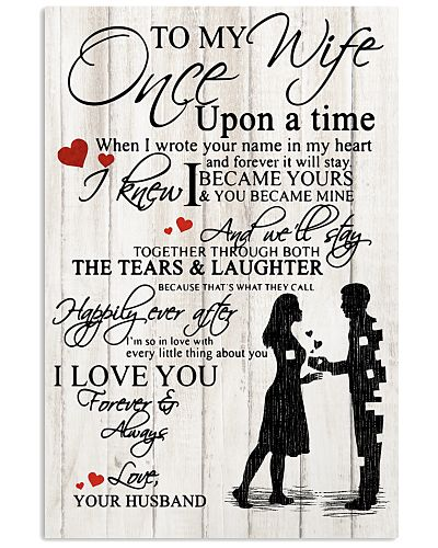 Once upon a time - To my wife
